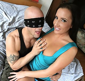Horny Girls Blindfold Porn Pictures