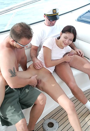 Horny Girls Boat Porn Pictures
