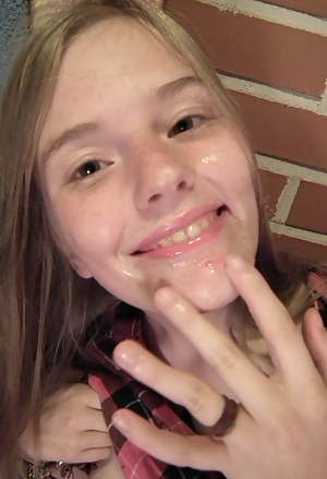 Horny Girls Facial Porn Pictures